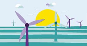 Nuon, illustratie, windenergie, animatie