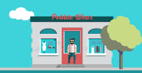 Pebble Wear, illustratie, Pebble Stone fashion