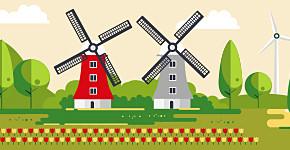 Purmer, korte animatieHoogheemraadschap, molens, animatie