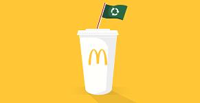McDonald's afval